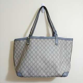正品 Gucci 經典 湖水綠 手袋 handbag