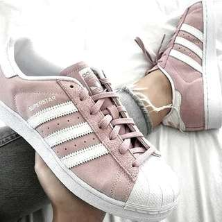 NAME YOUR PRICE | Size 6 Authentic Superstar Pink Suede