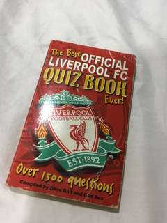 Official LFC Quizbook (Over 1500 Questions)