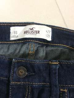 Hollister size 5s