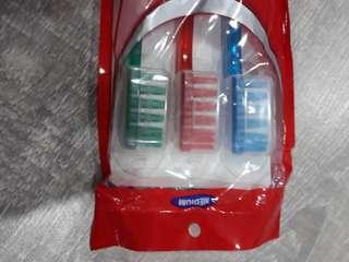 Set of 3 toothbrushes (Medium)