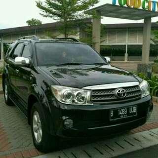 Toyota Fortuner 2.7 G Lux 2010AT..Siap mudik..ayo cepat!!!