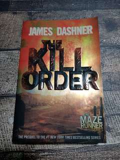 The Maze Runner #4 The Kill Order Import English Original
