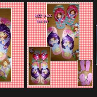 Girl Slippers SOFIA THE FIRST 16.5 CM SIZE 6 1/2