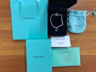 Tiffany 💙手鏈頸鏈手鐲耳環🎁M size 全新 名牌手鍊手鏈手飾 女朋友禮物🎁  抵買特價