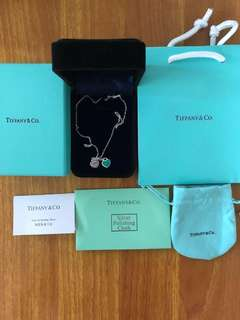 Tiffany ❤️禮物頸鏈頸鍊手鏈手鍊 經典粉藍色全新 名牌幼頸鏈手鍊 母親節禮物🎁 生日禮物!其他產品禁入我睇 穩陣款
