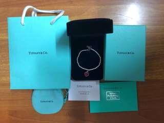 Tiffany ❤️手鏈頸鏈手鐲耳環🎁M size 全新100%真 名牌手鍊手鏈手飾 女朋友禮物🎁