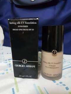 Lasting silk UV foundation #7