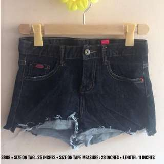 3808 DENIM SHORTS