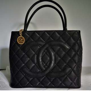 Authentic Chanel Medallion Bag Tote