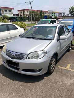 Toyota Vios 1.5 AT 2007