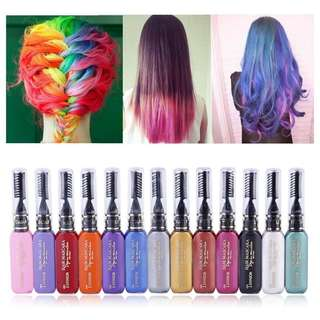 🦋13 Colors Disposable Hair Styling Color Dye Cream🦋