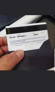 Brand new Prada travel wallet