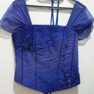 Party dress biru