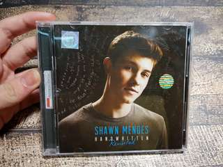 CD Shawn Mendes Handwritten Revisited Original