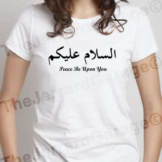 🚚 Arabic Peace Be Upon You Top