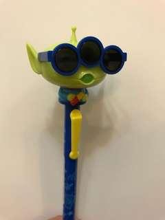 東京迪士尼 三眼仔 眼鏡原子筆