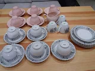 Chinese Tea Set (white set only)