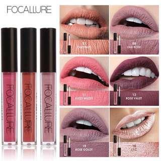 🦋FOCALLURE Waterproof Liquid Pencil Matte Lipstick Lip Gloss🦋