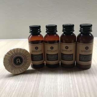 Appelles Organic Bath Set