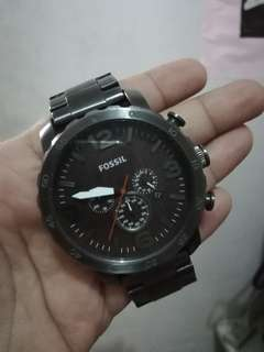 Men's Fossil Nate Chronograph Watch JR1355