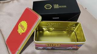 Shell Tin Collectible