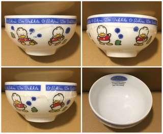 Sanrio Ahiru No Pekkle 鴨仔 1991 年 陶瓷飯碗 (Made in Japan) 全新未用過 (直徑 4.25 吋) (** 只限北角地鐵站交收 **)