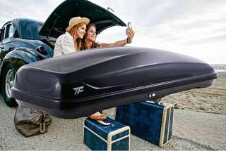 TF333車載行李箱,車頂行李箱,耐寒耐熱耐用,德國工藝,超高耐熱級材料製造