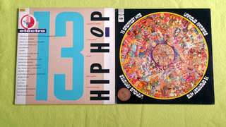 STREET SOUND HIP HOP ELECTRO 13 ● 14 GREATEST HITS . Paul Simon● Raider ● Dr. Hook ● Watch Pocket ● Looking Glass ● Redbone ● Chicory Tip ● Bobby Vinton ● Danyel Gérard ● Johnny Cash ● Andy William ● Argent● Ray Conniff  (buy 1 get 1 free)  vinyl record