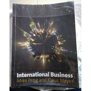 International Business by Mike Peng & Klaus Meyer