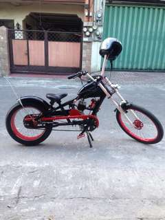 Motorized Chopper Bicycle