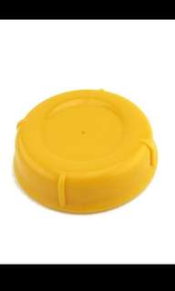 2 pieces Pigeon Bottle Cap - Yellow