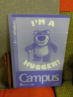 Campus勞蘇熊單行簿~購自日本