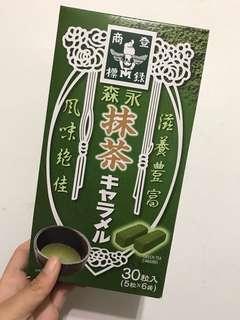 🚚 日本帶回森永抹茶牛奶糖6盒入