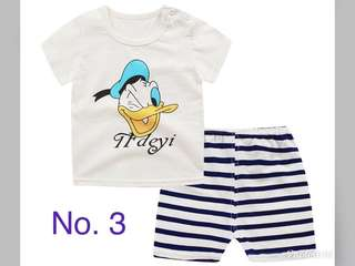 Comfortable & Thin Babies Clothes Sets