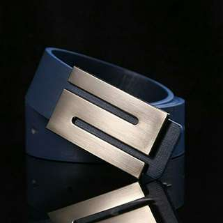 Blue Buckle Belt