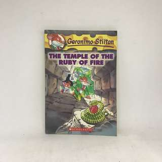 The Temple of the Ruby of Fire | Geronimo Stilton #14