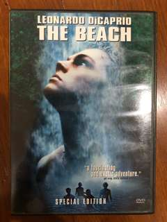 The Beach (2000) R1 DVD