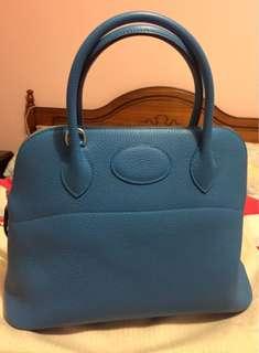 Hermes Bolide 31 Blue Zanzibar
