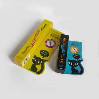 AUTHENTIC JIGOTT Cat's Eye Mascara & Eyeliner