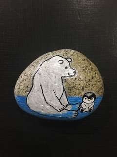 bear and the penguin rock