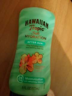 Hawaiian tropic silk hydration after sun gel lotion ( aloe )