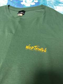 wildthings print tee (not patagonia north face mont bell)