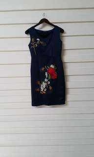 dress pesta murah fit to L