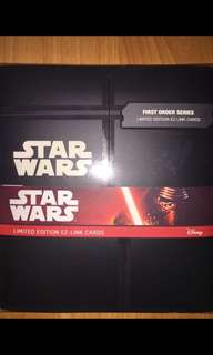Limited Edition Stars Wars Ezlink Cards