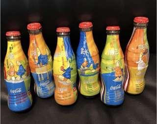 絕版-可口可樂 Coca Cola 玻璃樽 奧運2004年 1套6支 200ml