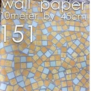 Bricks Stones Design Wallpaper Self Adhesive C151