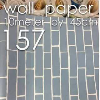 Bricks Stones Design Wallpaper Self Adhesive C157