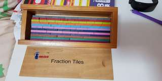 Educational Toys - fraction tiles