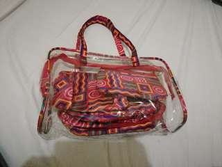 transparent bag with pouch (3)